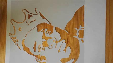 graffiti stencil biggie smalls youtube