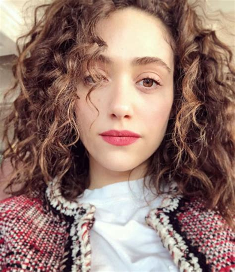 emmy rossum curly celebrities with curly hair including emmy rossum