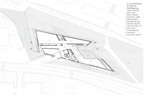 vitra fire station floor plan gallery of eli edythe broad art museum zaha hadid