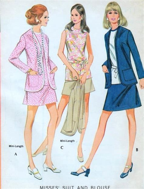 vintage mccalls sewing pattern 4524 uncut and factory fold 1970s retro suit and blouse pattern easy to make vintage