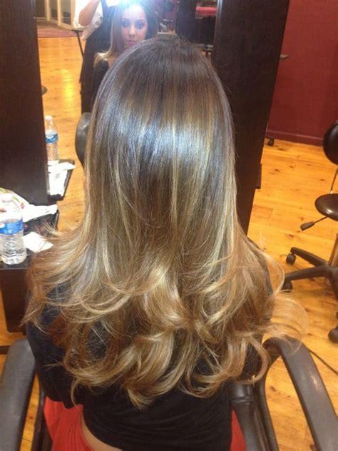 balayage highlights on brown hair yelp