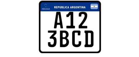 patentes de autos 2017 nueva patente argentina para motos y autos seguroweb