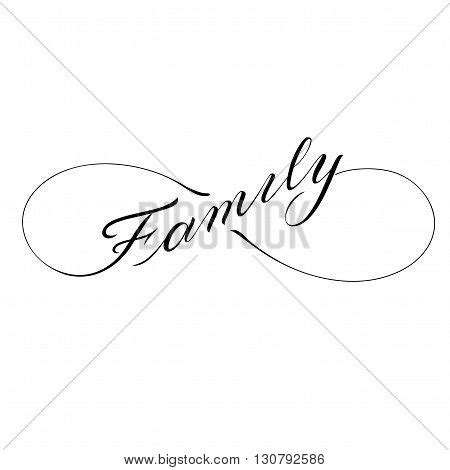 infinity tattoo vector infinity family icon vector photo free trial bigstock