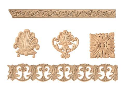 decori in legno per mobili fregi legno pressato 85834