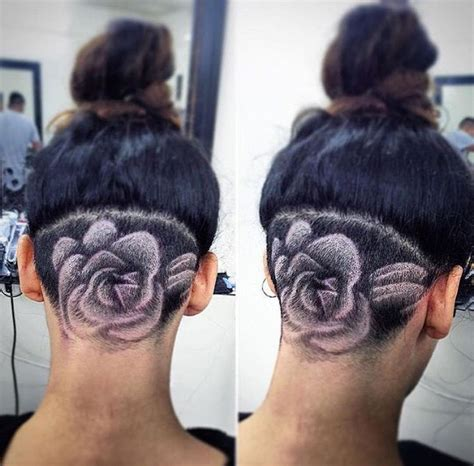 female haircut designs in hair 17 best images about nape cuts on pinterest woman hair