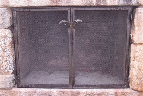 handmade outdoor screen by rising sun forge