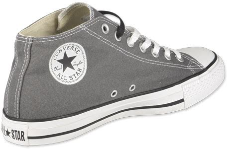 Ad Mid Allstar converse all clean mid can chaussures charcoal