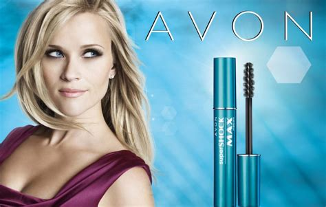 Reese Witherspoon Is An Avon by On Counter Avon S Supershock Max Mascara With Reese