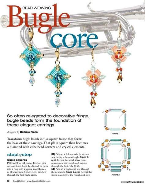 bugle patterns free bugle earrings free tutorial by barbara klann page