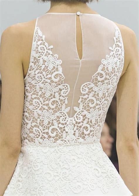 Wedding Dress Lace Back by Wedding Dresses Lace Back Wedding Dress 1911858 Weddbook