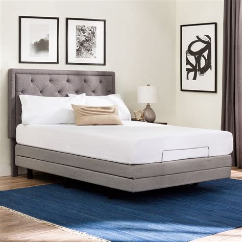 structures m50 adjustable bed base malouf touch of modern