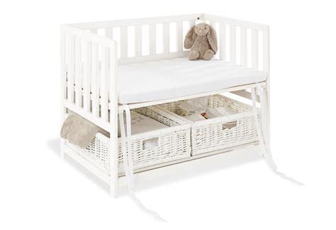bett janne pinolino bedside crib mit matratze janne wei 223 bedside
