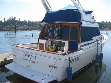 1987 bayliner 3270 motoryacht power boat for sale www - Boat Canvas Kingston Wa