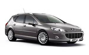 Peugeot 407 Specifications Peugeot 407 Station Wagon Sw3 0 Rhd At 3 0 2009