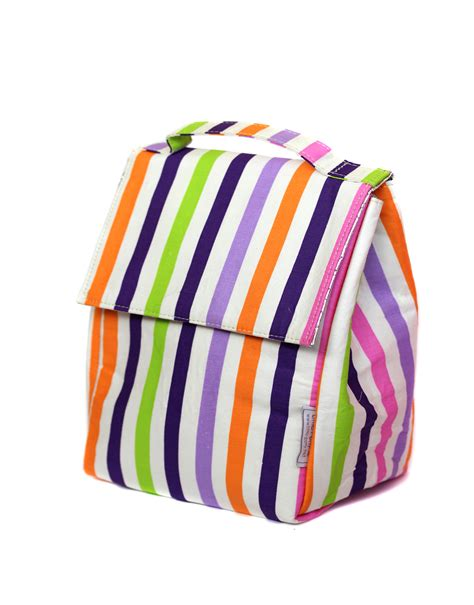 Dasi Panjang Tie Purple Stripesss purple stripe insulated lunch bag kicau kecil