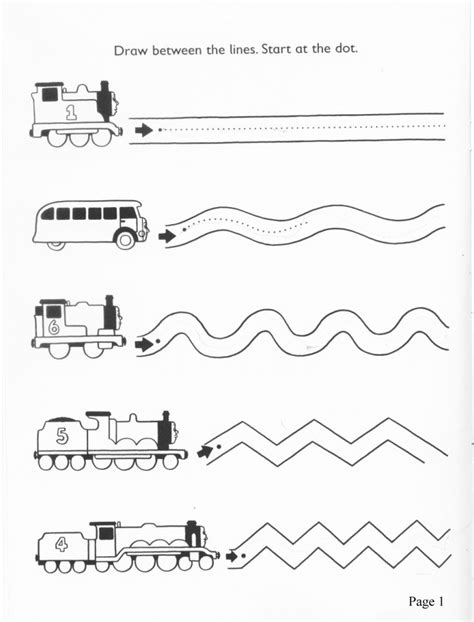 worksheet for preschool lines 64 best images about tracing lines on pinterest fine