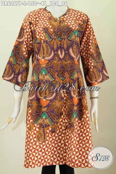 desain baju kerah online sedia baju batik online dress batik solo halus desain