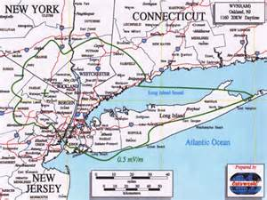 Map Of New York And New Jersey by Wvnj 1160am