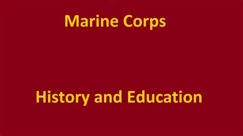 marine corps ranks the marine corps enlisted ranks youtube