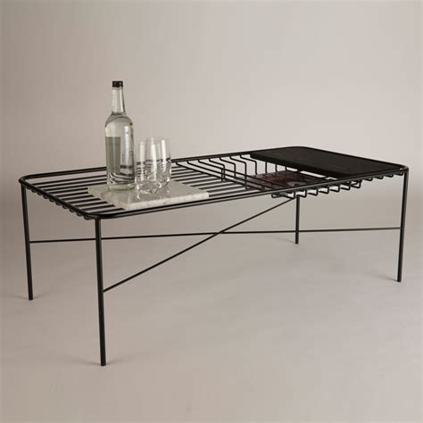 Wire Coffee Table George S Wire Series Coffee Table Comes With Integrated Accessories Sig Nordal Jr