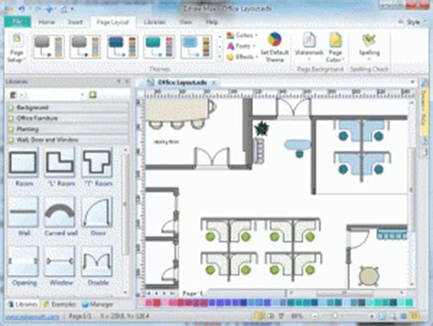 openoffice draw floor plan the 8 best office planning tools to succeed