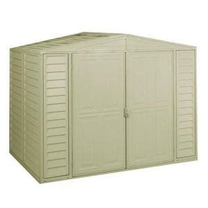 Vinyl Sheds Home Depot by Duramax Building Products Duramate 8 Ft X 5 25 Ft Vinyl