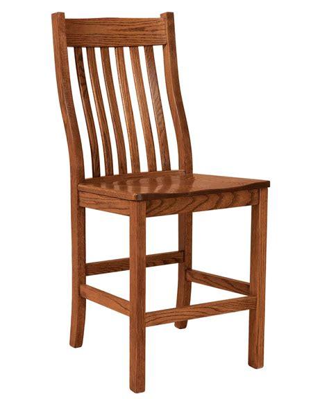 Amish Oak Bar Stools by Sullivan Bar Stool Amish Direct Furniture