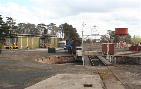 rail geelong gallery ballarat east depot turntable