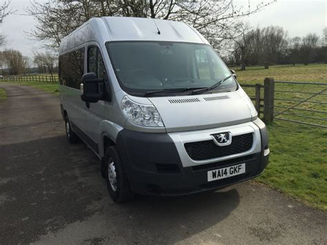 used peugeot diesel used silver peugeot boxer for sale oxfordshire