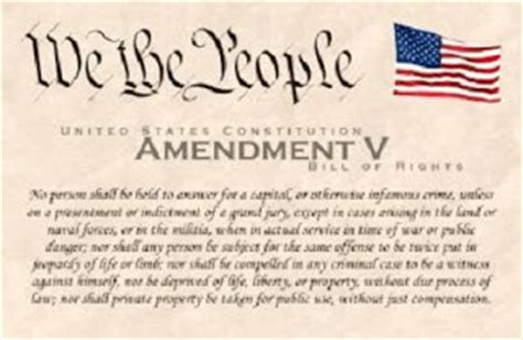 The Fifth Amendment Protects From Unreasonable Search And Seizure By The Government Civil Liberties Coming To America