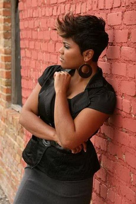 natural spike hairstyles for african american woman short spikey hairstyles for black women