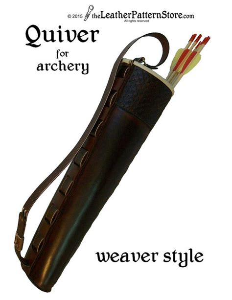 sewing pattern quiver pattern archery quiver weaver style pattern pdf