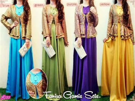 Set Gamis Muslim 48 Nmayesya busana muslim gamis a collection of s fashion