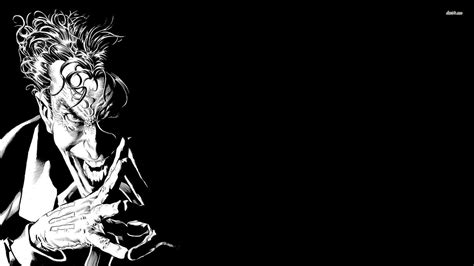 black and white joker wallpaper batman joker wallpapers wallpaper cave