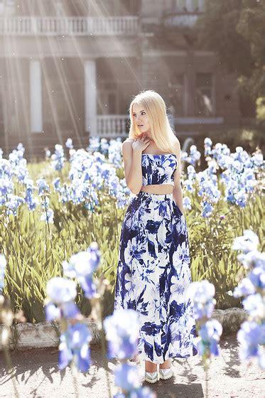 Brinna Flower Printed Dress Agatha oksana orehhova oasap dress bouquet lookbook