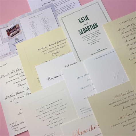Wedding Stationery Shops by Wedding Sle Pack Wedding Stationery Geebrothers Co Uk