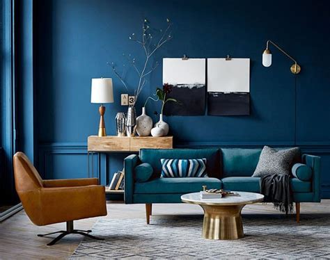 Colors For Livingroom D 233 Cor Do Dia Tons De Azul Invadem A Sala Casa Vogue