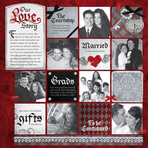 scrapbook layout ideas for relationships wedding or engagement scrapbook layout couple scrapbook