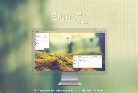 elune theme for windows 8 1 how to theme your windows 8 desktop and 30 beautiful