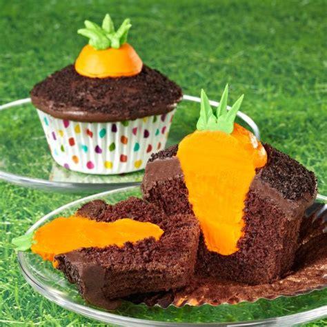 how to make bunny s carrot garden easter cupcakes wilton
