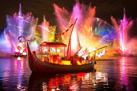 disney light look at rivers of light at disney s