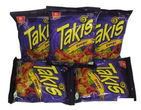 hot chips usa 5 pack takis fuego rolled corn tortilla x tra hot chips ebay