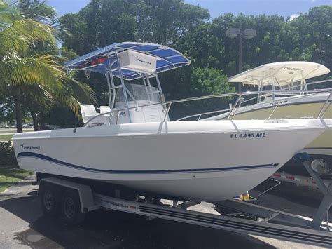 pro line center console boats for sale 2004 used pro line 22 sport center console fishing boat