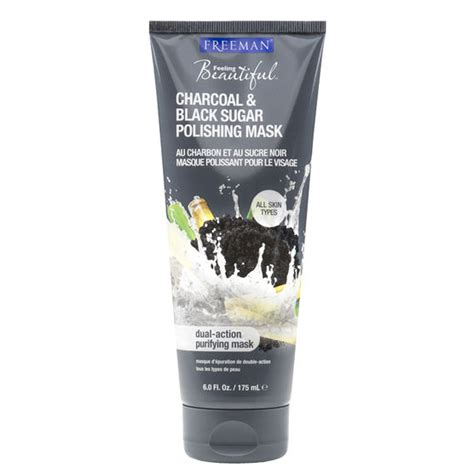 freeman feeling mask 175ml freeman feeling beautiful polishing mask charcoal