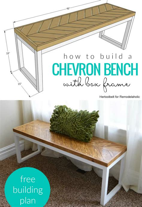 how to build a bench seat against a wall remodelaholic diy leather director s bench building plans