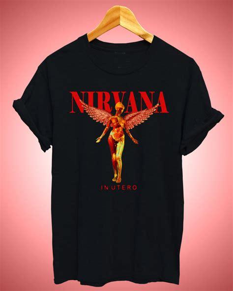 Tshirt Nirvana In Utero Diskon nirvanat shirt nirvana smiey nirvana in utero