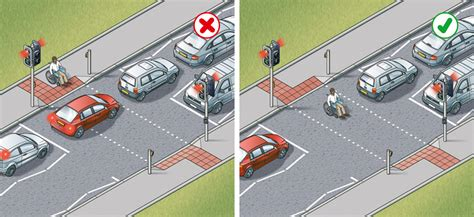 at the crossing using the road 159 to 203 the highway code guidance