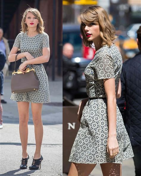 taylor swift dressed to the nines 5 dresses you need to copy taylor swift s shopping day outfit