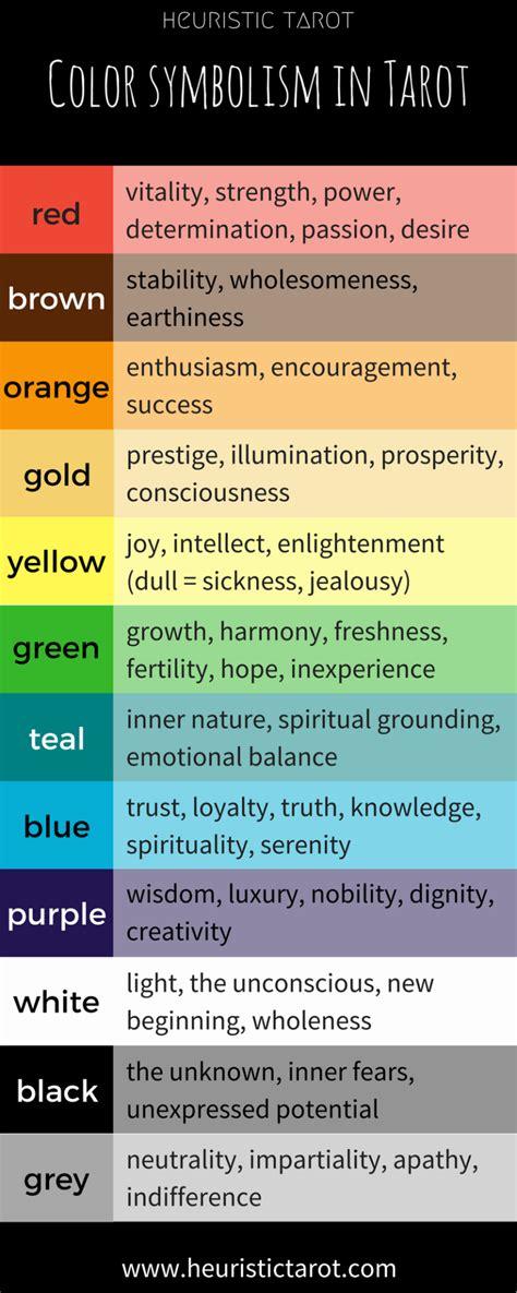 color yellow symbolism color symbolism in tarot heuristic tarot