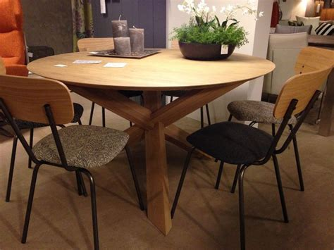 Circle Breakfast Table Circle Dining Table Ethnicraft Familyhouse